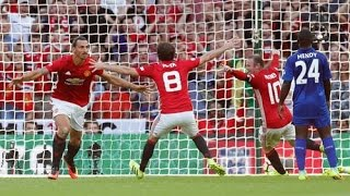 Cuplikan Goal Leicester Vs Manchester United 12 Community Shield HD 7082016