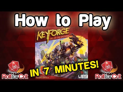 How to Play KeyForge | Roll For Crit