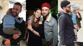 Gambar cover Justin Timberlake's Family - 2018 {Wife Jessica Biel & Son Silas Randall Timberlake}