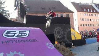 preview picture of video 'Red Bull District Ride 2011 Nürnberg - Final runs'