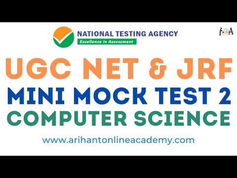 UGC NET & JRF Computer Science Mini Mock Test 2 | Practice ...