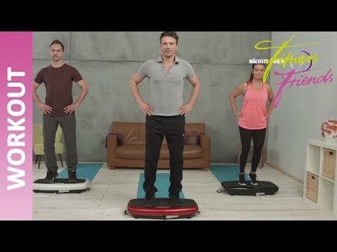 Vibrationsplatte Slim - Workout (2) II Fitness Friends