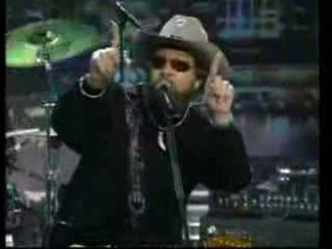 Skynyrd and Hank on Late, Late Show