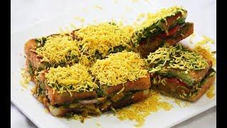 Authentic bombay masala toast recipe | Street style | Easy to make