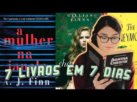 vlog de leitura // 7 livros em 7 dias | 1.518 páginas em uma semana