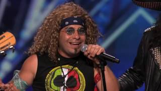 "Metalachi: Heavy Metal Mariachi Band Plays ""We're Not Gonna Take It"" - America's Got Talent 2015 -"