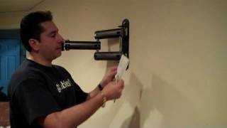 How to Install an Articulating Mount and In-Wall Power Kit
