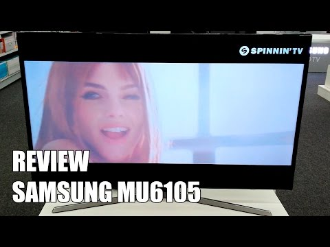 Review Samsung MU6105 - MU6100 Television 4K UHD HDR Smart TV 2017