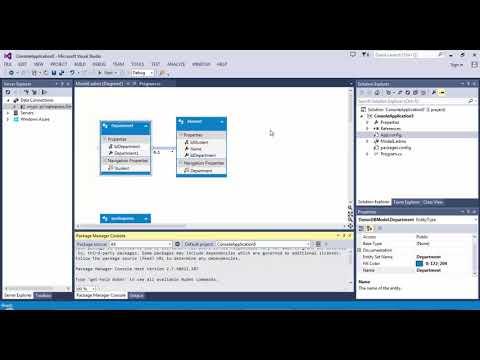 Database First Approach - Entity Framework