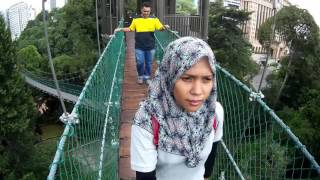 Canopy walk at KL Forest Eco Park | Bukit Nanas Forest Reserve | 20.10.2016