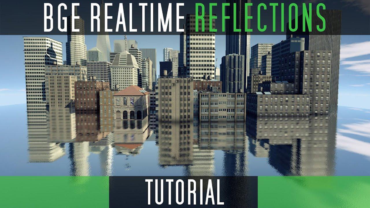 Create Realtime Blurred Reflections [Blender Game Engine]