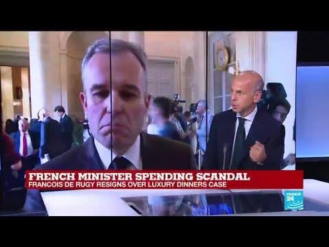 French minister Francois de Rugy resigns over spending scandal