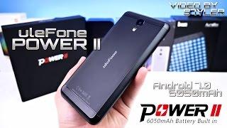 Ulefone Power 2 (Full Review) 6050mAh, Android 7.0 with Split-screen, Front Fingerprint Sensor