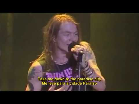 GUNS N' ROSES - PARADISE CITY (LEGENDADO EM PT)