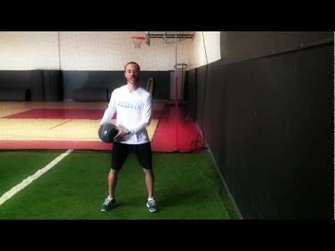 Medicine-Ball Side Throw