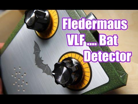 Fledermaus Detektor / Bat Detector & VLF Receiver Bausatz / assembly set -  Wanderlinse