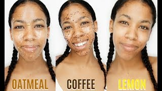 3 Simple & Easy Homemade Face Scrubs ♡