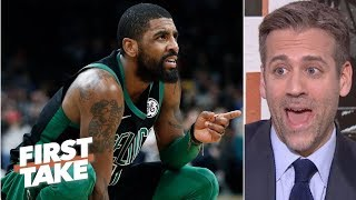 Celtics are Kyrie Irving and teammates with uncertain roles - Max Kellerman | First Take