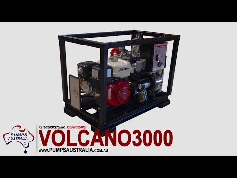 Pressure Cleaners - Volcano 3000 - Hot & Cold Petrol
