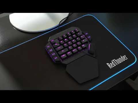 RedThunder One-Handed Mechanical Gaming Keyboard | Aliexpress