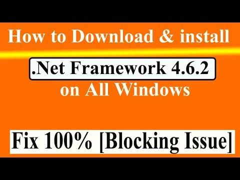 How To Download and Install NET Framework 4.6.2 (Offline Installer) for Windows 7  in Urdu