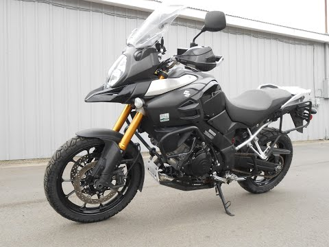 2015 Suzuki V-Strom 1000 ABS in Howell, Michigan - Video 1