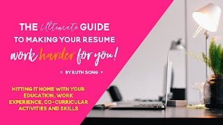 Detailing The Skills Section in My Resume
