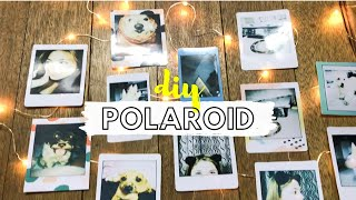 How To Print Polaroid Picture Without Camera! | DIY | Loraine Arreglado (Philippines)