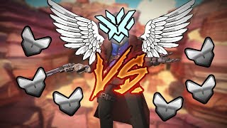 1 McCree GOD With 2X DMG vs 6 Silver Players - Who Wins? [OUR BEST ONE YET] - Overwatch VS