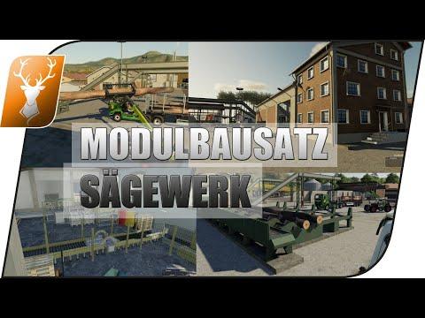 , title : 'LS19 Sägewerk + Produktion von Kastor // MEGA Baukasten // FS19 Placeable Sawmill Pack // LS19 Mods'