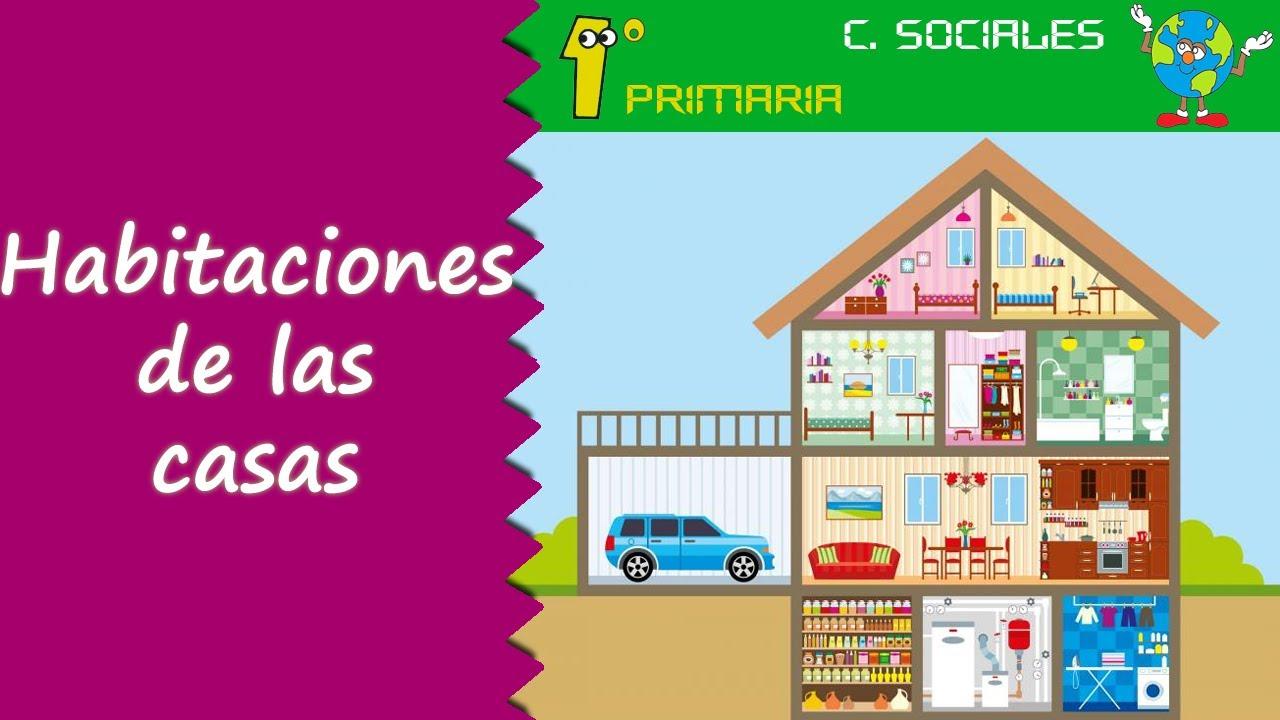 Ciencias Sociales. 1º Primaria. Tema 2: Las habitaciones de la casa