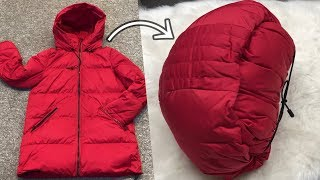 How To Pack It Down Jackets and Outerwear  Neatly