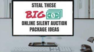Silent Auction Ideas:  Deep Dive Into An Online Auction