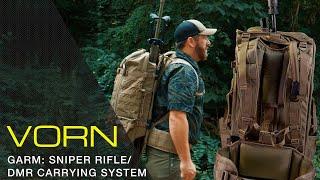 VORN DEFENCE GARM - SNIPER RIFLE / DMR CARRYING SYSTEM