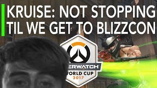 Overwatch | Kruise Genji Will Not Stop Til Blizzcon - UK vs Chinese Taipei | World Cup Highlights