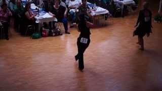 preview picture of video 'German World of Dance 2013 Clarissa Schneider-Wirsching Eastcoast Swing Intermediate Open Female'
