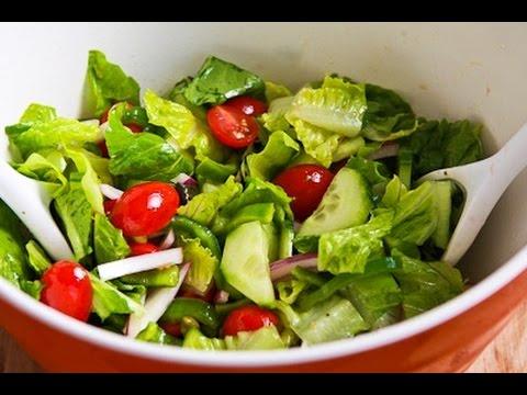 """Ensalada de Verduras Receta"" ""Recetas Vegetarianas"""
