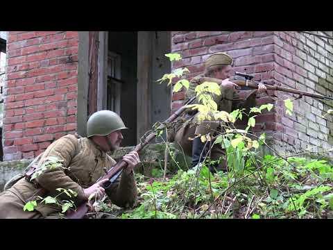 звуки выстрела винтовка Мосина с перезарядкой