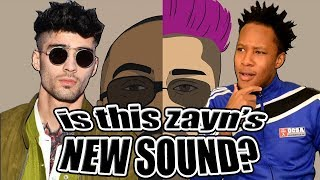 ZAYN - TOO MUCH (FEAT. TIMBALAND) REACTION | @Shellitronnn