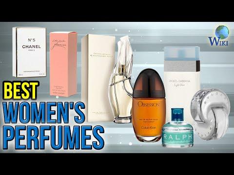 10 Best Women's Perfumes 2017
