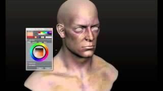 Mudbox Painting Skin Base Layer