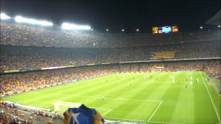 preview picture of video 'El Camp Nou cridant Independència 07/10/2012'