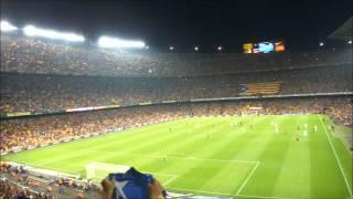 preview picture of video 'El Camp Nou cridant Independència 07/10/2012'