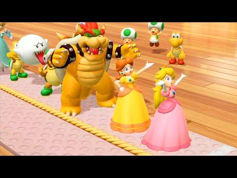 【スーパーマリオパーティ】ピーチ姫対デイジー対マリオ対ルイージ主人CPU