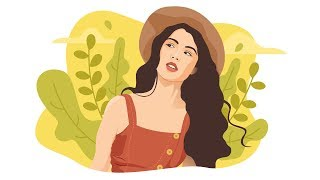 How To Create FLAT ILLUSTRATION Based On Photo In Adobe Illustrator