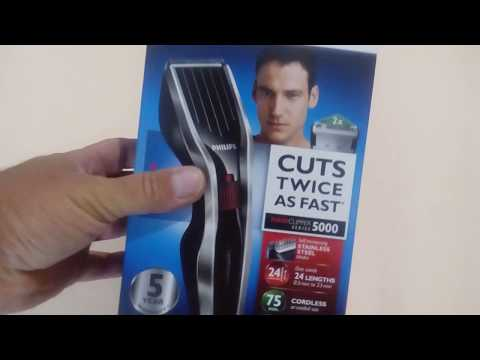 Cortapelos Philips Hairclipper series 5000
