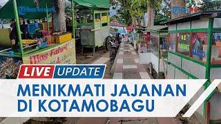 Menikmati Pusat Jajanan di Pinggir Lapangan Molinow Kotamobagu, Warga Ramai Jelang Sore dan Malam