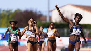 Albi 2020 : Finale 800 m F (Noelie Yarigo en 2'04''76)