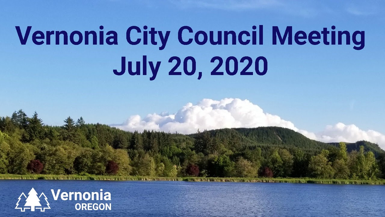 City Council Meeting - July 20, 2020