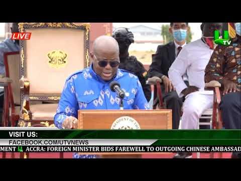 Prez Akufo-Addo Commissions Phase 1 Tema Interchange Project